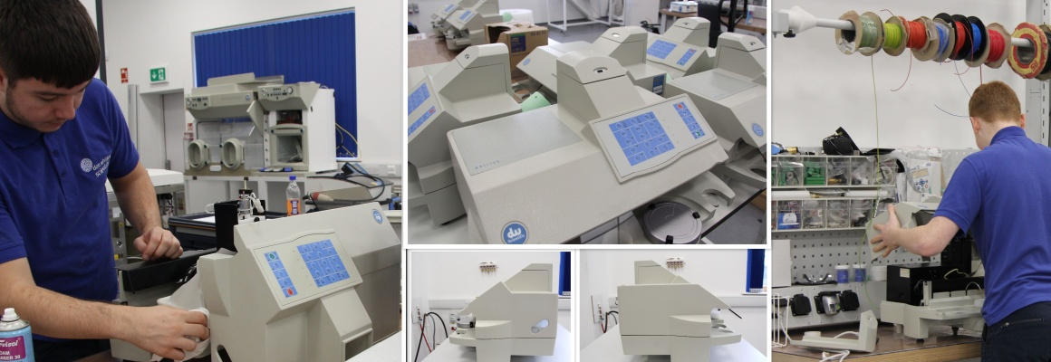 Second hand laboratory equipment: spiral platers