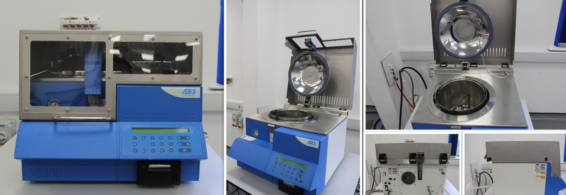 Second hand laboratory equipment: media preparators