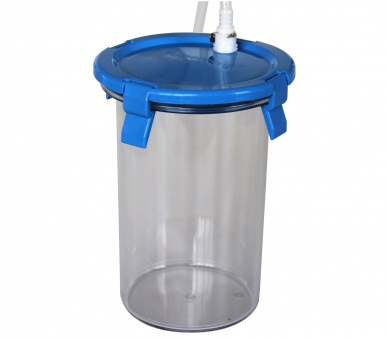 10 Plate Polycarbonate Jar for Whitley Jar Gassing System